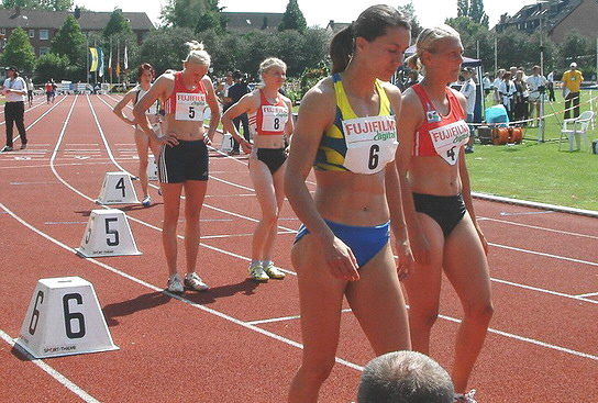 800m-Start Mehrkampf-Meeting Ratingen 2005